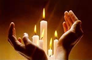 Mains bougies